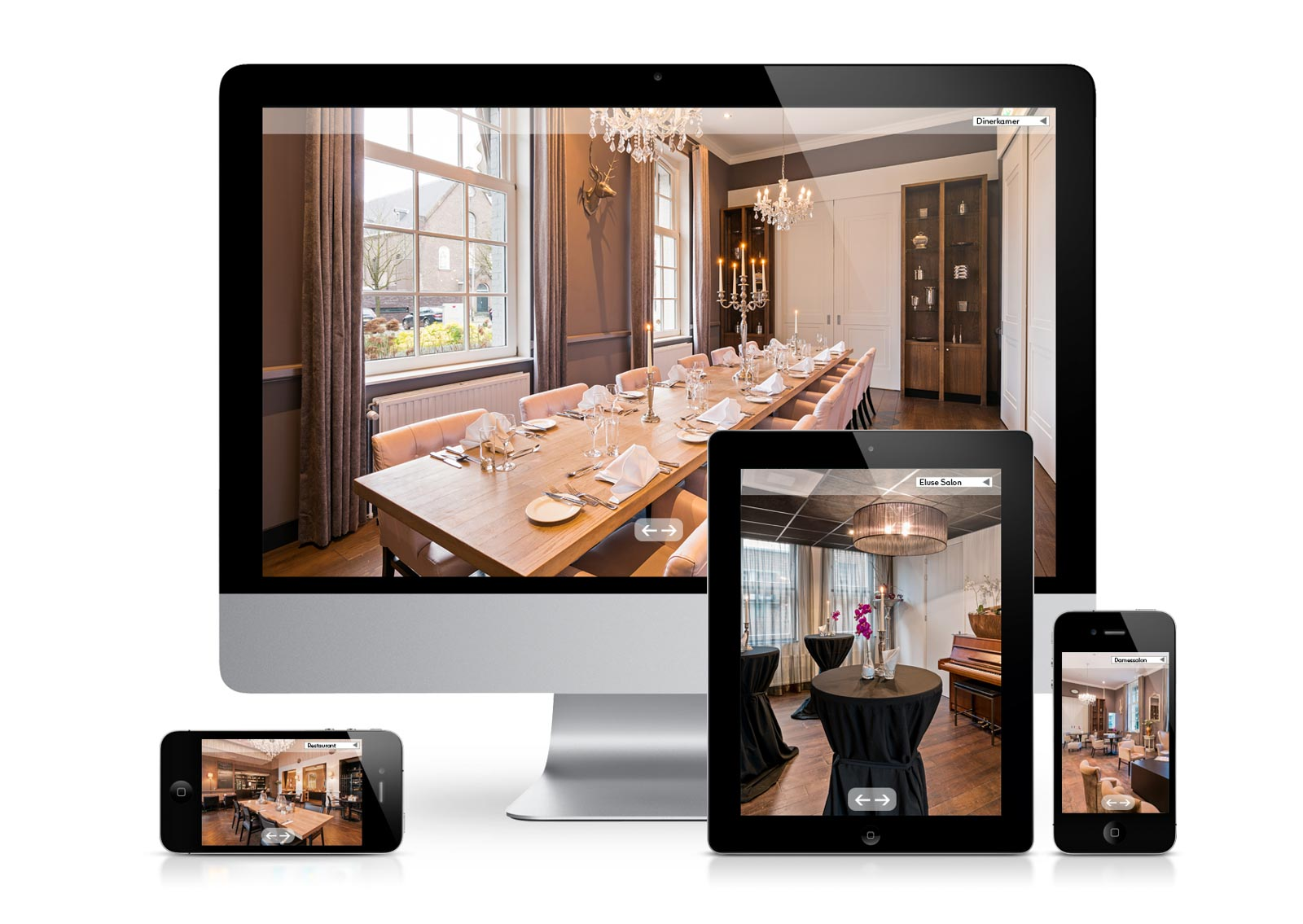 Viditour of Hotel Merlinde on different devices