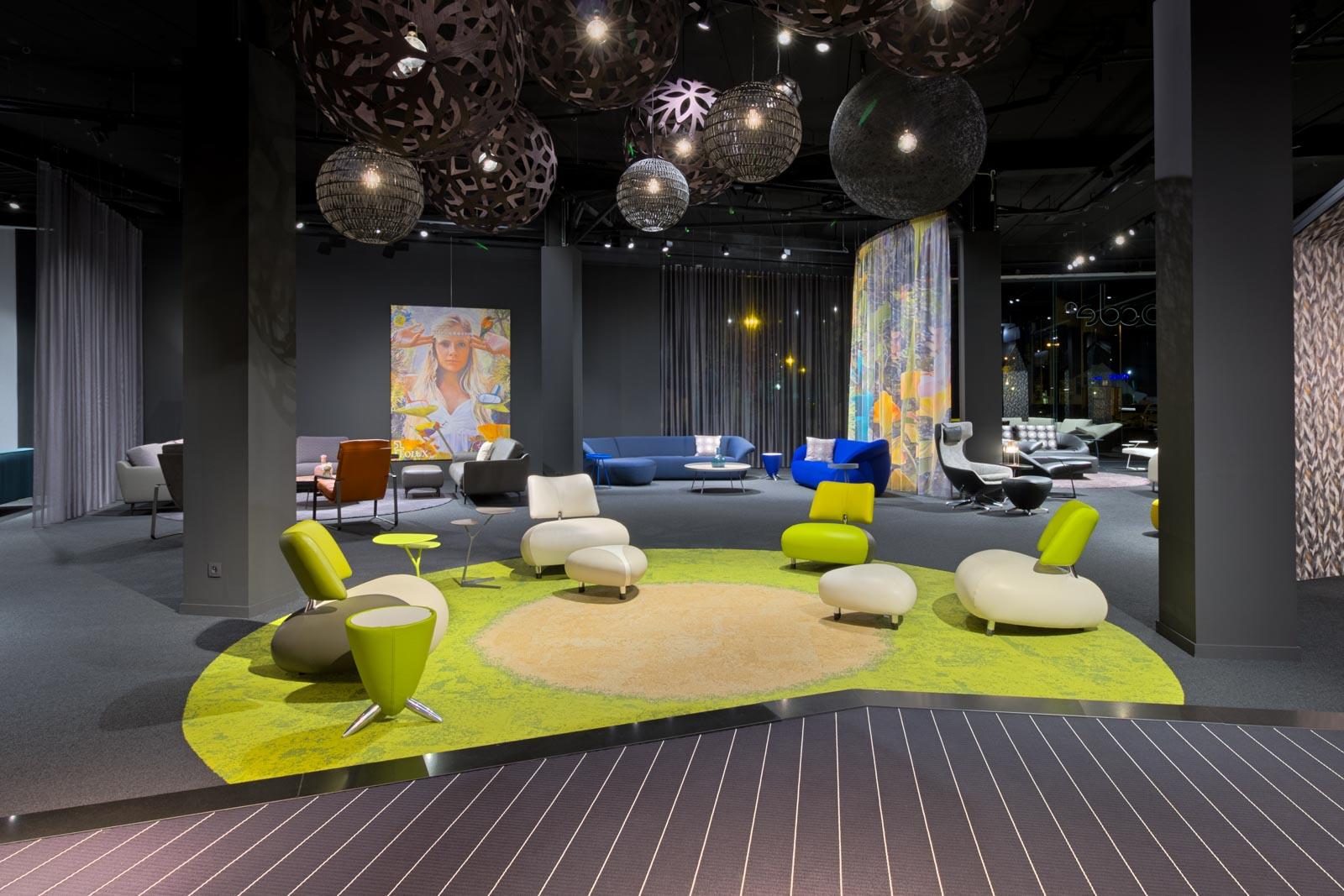 Showroom at Leolux Design Center